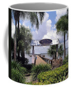 Scenic Melbourne Beach Pier  Florida Coffee Mug