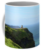 Scenic O'brien's Tower A Top The Cliff's Of Moher In Ireland Coffee Mug