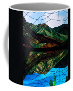 Scenic Stained Glass  Coffee Mug
