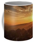 Scenic Sunset Over Hollywood Hills Coffee Mug