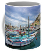 Scenic View Of Historical Marina In Nice, France Coffee Mug