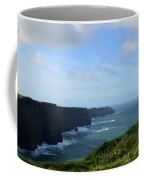 Scenic Views Of Ireland's Cliff's Of Moher In County Clare Coffee Mug
