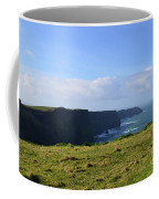 Scenic Views Of The Cliff's Of Moher In Ireland Coffee Mug
