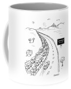 Schadenfreude Next 20 Miles Coffee Mug
