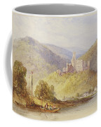 Schloss Stolzenfels From The Banks Of The Lahn Coffee Mug