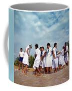 School Trip To Beach II Coffee Mug by Rafa Rivas