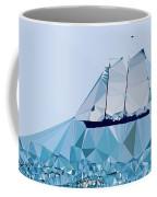 Schooner, Abstracted Coffee Mug