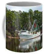 Schrimp Boat On Icw Coffee Mug
