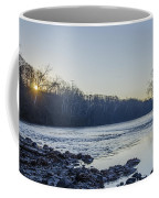 Schuylkill River Sunrise Linfield Pa Coffee Mug