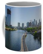 schuylkill River Walk from South Street Bridge Coffee Mug