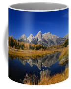 Schwabacher Landing Panorama Coffee Mug