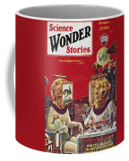 Science Fiction Cover, 1929 Coffee Mug
