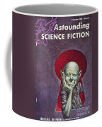 Science Fiction Cover, 1954 Coffee Mug