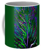 Scintillating Leaf Coffee Mug