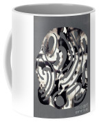 Scissor-cut Abstraction Coffee Mug
