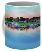 Scituate Harbor At Sunset Coffee Mug