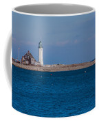 Scituate Lighthouse From Across The Harbor Coffee Mug