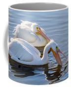 Scooping For Fish Coffee Mug