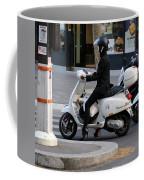 Scooter Girl Paris 1 Coffee Mug