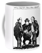 Scopes Trial Cartoon 1925 Coffee Mug
