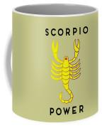 Scorpio Power Coffee Mug by Judy Hall-Folde