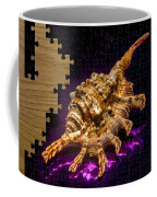 Scorpion Shell Puzzle Coffee Mug