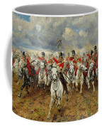 Scotland Forever Coffee Mug by Elizabeth Southerden Thompson