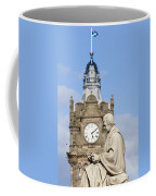 Scott Statue And Balmoral Clock Tower Coffee Mug