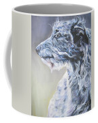 Scottish Deerhound Coffee Mug by Lee Ann Shepard