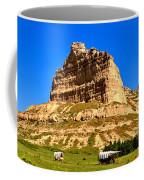 Scotts Bluff National Monument Panorama Coffee Mug