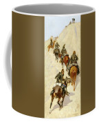 Scouts Climbing A Mountain Coffee Mug