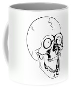 Screaming Skull Coffee Mug