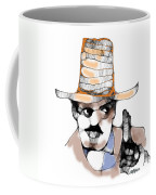 Scribbler Cowboy Coffee Mug