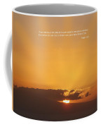 Scriptue And Picture Psalm 65 8 Coffee Mug