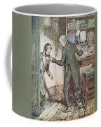 Scrooge And Bob Cratchit Coffee Mug