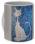 Scruffy The Cat Coffee Mug
