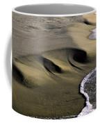 Sculpted Beach Coffee Mug