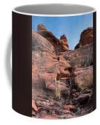 Sculpted Sandstone Coffee Mug