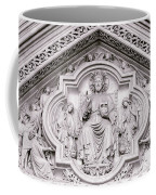 Sculpture Above North Entrance Of Westminster Abbey London Coffee Mug