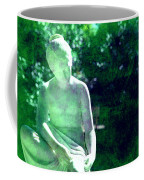 Sculpture In A Park Coffee Mug by Susanne Van Hulst