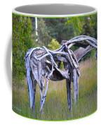 Sculpture Of Horse Coffee Mug