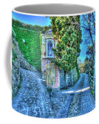 Sea And Mountains Hike Narrow Roads - Creuza De Ma E Creuza De Munte Coffee Mug by Enrico Pelos