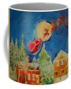 Sea Blue Christmas  Coffee Mug