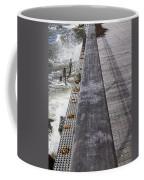 Sea Cliff Seawall Boardwalk Coffee Mug