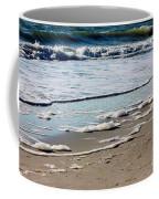 Sea Foam At The Shore Coffee Mug
