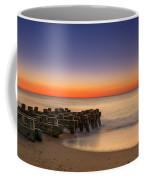Sea Girt Pilings  Coffee Mug