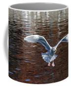 Sea Gull Landing Coffee Mug