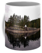 Sea Mark On An Islet At Lake Saimaa Coffee Mug
