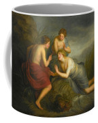 Sea Nymphs Discovering The Hair Of Medusa Turning To Coral Coffee Mug