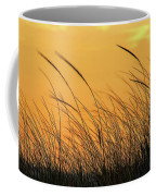 Sea Oats At Dusk Coffee Mug